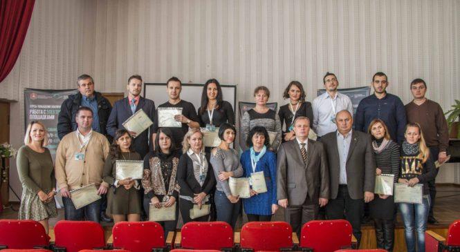 Николай Гусаков вручил сертификаты предпринимателям о прохождении курсов повышения квалификации