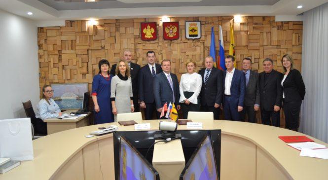 Керчь и Новороссийск подписали договор о межмуниципальном сотрудничестве