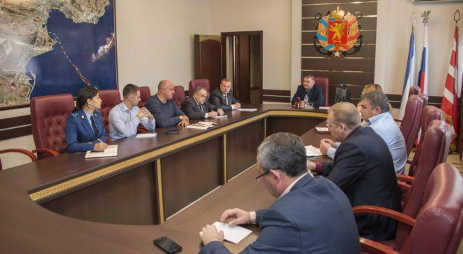В городском совете провели совещание по подготовке к президентским выборам