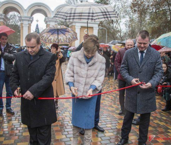 В Керчи открыт обновленный Молодежный парк