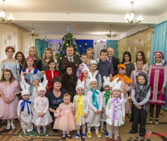 Глава муниципального образования поздравил воспитанников интерната с Рождеством