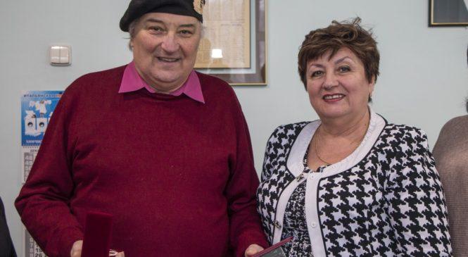 Почетной грамотой городского совета награжден Леонид Панин