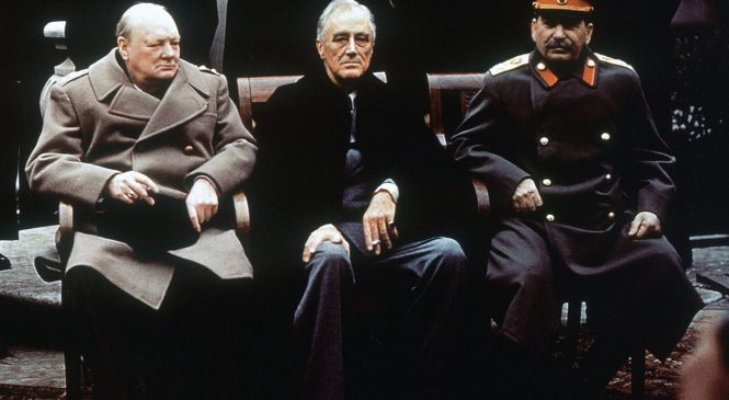 4 февраля — 73 года назад состоялась Крымская (Ялтинская) конференция
