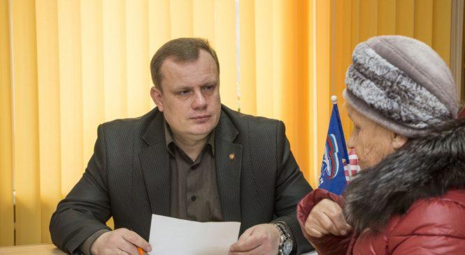 Глава муниципального образования Николай Гусаков провел прием граждан