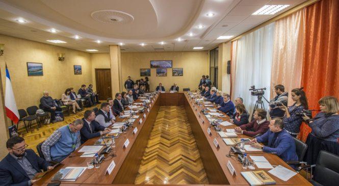В Керчи прошло очередное заседание Общественного совета Крымского моста