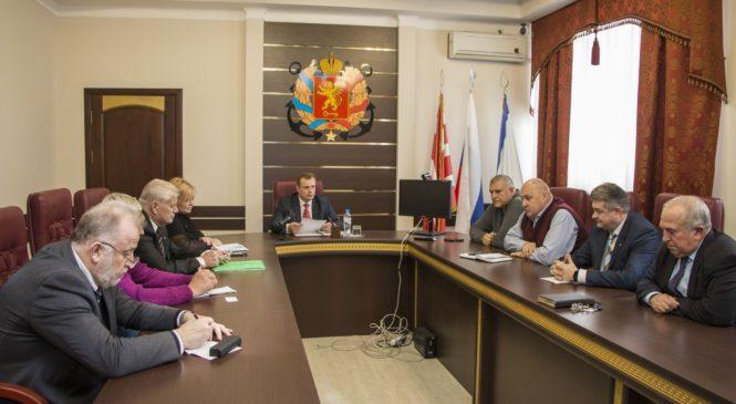 Состоялось заседание Общественного совета г. Керчи