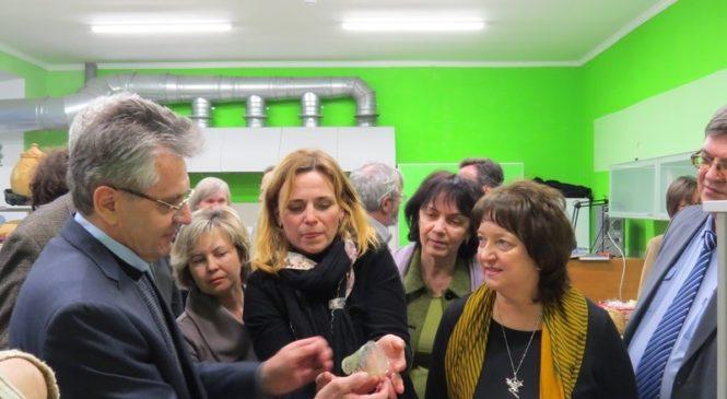 С рабочим визитом Лапидарий города посетил Президент Российской академии наук