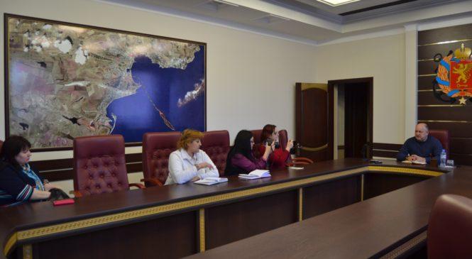 В городском совете прошла встреча с представителями СМИ по вопросу предстоящих выборов Президента РФ
