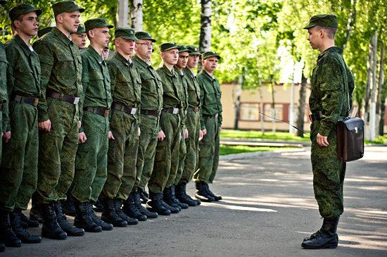 1 апреля 2018 года начинается весенний призыв на действительную срочную службу в ряды Вооруженных Сил РФ
