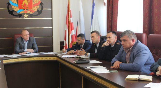 Заседала антитеррористическая комиссия по вопросу обеспечения мер безопасности на праздничных мероприятиях 1, 8 и 9 мая