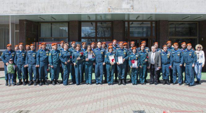 В Керчи отмечают День пожарной охраны