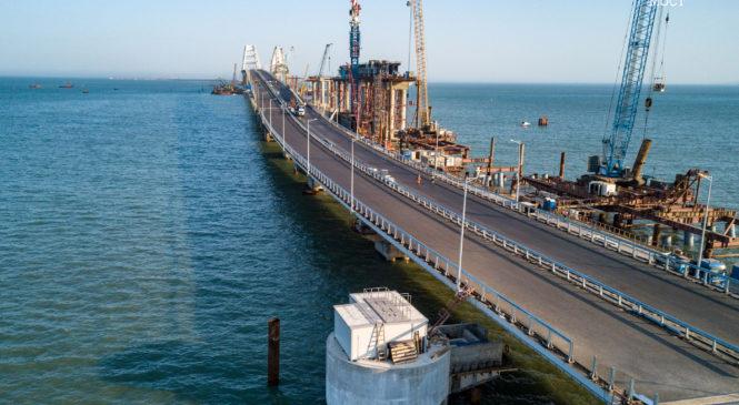 Локальные очистные сооружения обеспечат экологически безопасную эксплуатацию Крымского моста