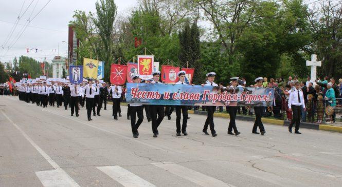 Колонна «Бессмертного полка» прошла через Керчь