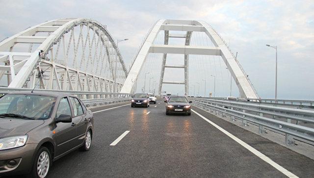 С момента открытия движения по Крымскому мосту проехало  более 200 тысяч автомобилей