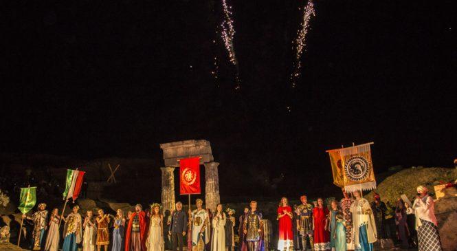 В Керчи стартовали юбилейные XX «Боспорские Агоны»