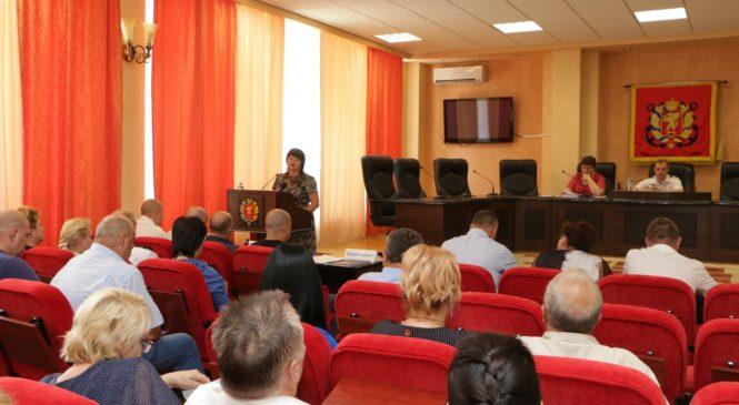 В Керчи состоялась очередная 95 сессия городского совета