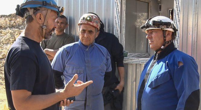 Состоялся визит вице-премьера Крыма Юрия Гоцанюка в пещеру «Таврида»