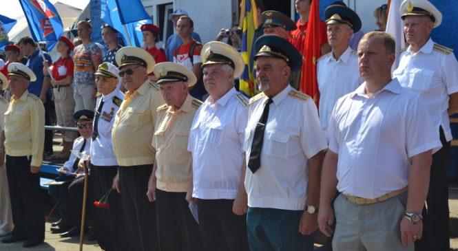 Сегодня состоялась встреча с ветеранами посвященная празднованию Дня ВМФ