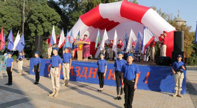 Керчь встретила делегацию юнармейцев из Ставропольского края
