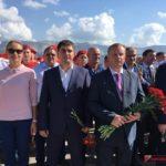 Керчане поздравили Новороссийск с Днём города