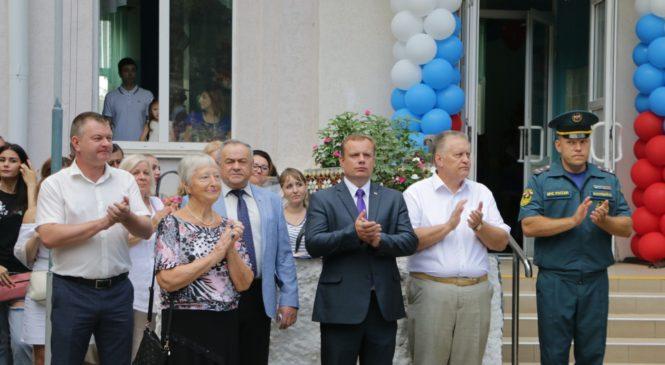 На празднике Дня знаний в МТЛ побывали Николай Гусаков и Ефим Фикс