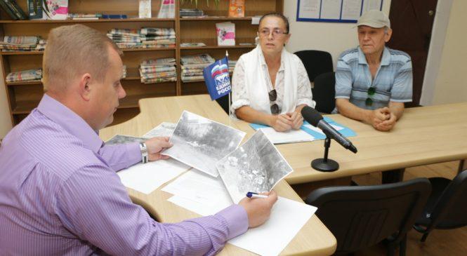 На приеме граждан по личным вопросам люди интересовались ремонтом внутриквартальных дорог