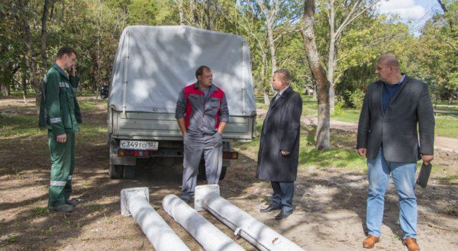 Глава муниципального образования инспектировал ход работ по программе «Комфортная среда»