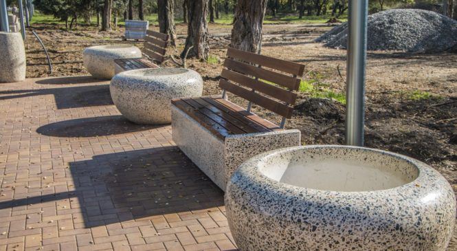 В Комсомольском парке прошло выездное совещание по реализации программы благоустройства