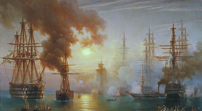 1 декабря – День воинской славы. Победа русской эскадры под командованием П.С. Нахимова над турецкой эскадрой у мыса Синоп в 1853 году