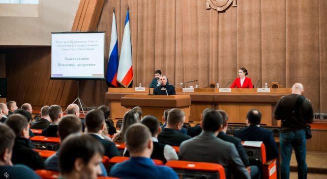 Керчане работают в Совете молодых депутатов при Председателе Госсовета Крыма