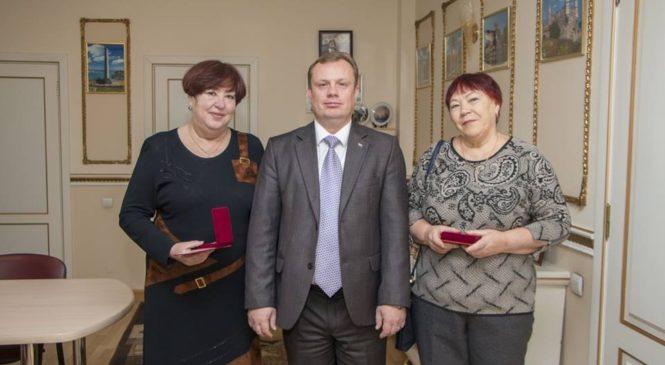 В Керчи наградили инициативных жителей избирательного округа № 10