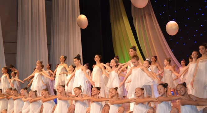 Танцевальный коллектив «Алиса» отпраздновал день рождения