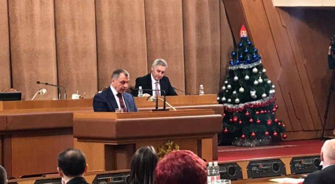 Глава муниципального образования принял участие в заседании девятой сессии Государственного Совета РК