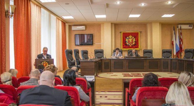 В Керчи состоялась очередная 108 сессия городского совета