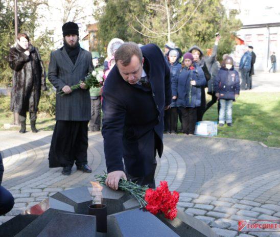 В Керчи отметили 30-ю годовщину вывода войск из Афганистана
