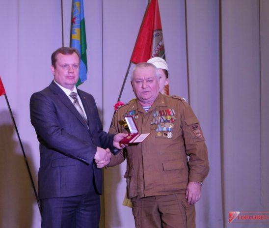В Керчи дали праздничный концерт в честь ветеранов Афганистана