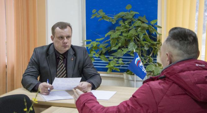 Николай ГУСАКОВ провел приём граждан по личным вопросам