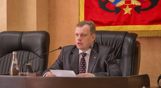 На 109-й сессии городского совета прозвучал отчет главы муниципального образования г. Керчи