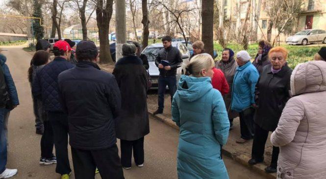 Евгений ЧЕПУРНОЙ провел сходы граждан на округе №12