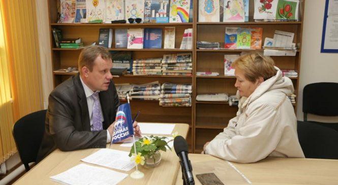 Николай ГУСАКОВ провел прием граждан по личным вопросам