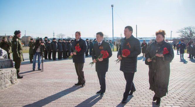 Керчь приняла эстафету Всероссийской акции «Дорога памяти»