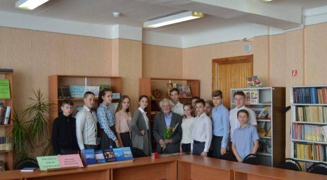 В 26 школе прошла встреча с писателем Василием МАКОВЕЦКИМ