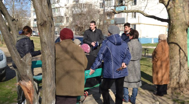 Депутат Павел ШПЕХТ провел сход граждан на округе №10