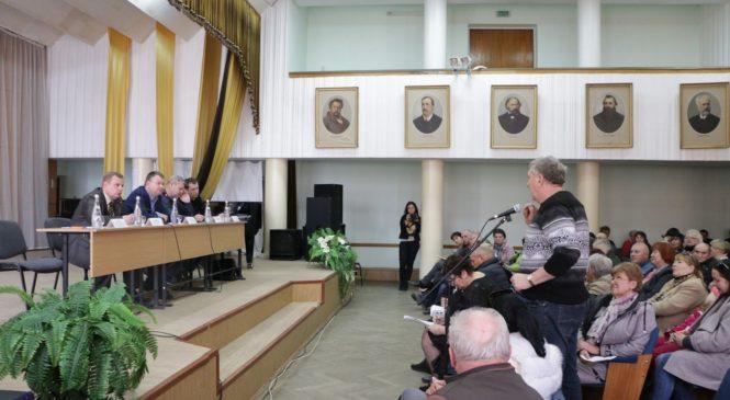Встреча с председателями многоквартирных домов района Войкова прошла в школе искусств