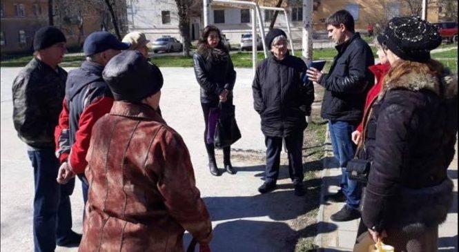 Евгений ЧЕПУРНОЙ провел встречи с жителями своего округа №12
