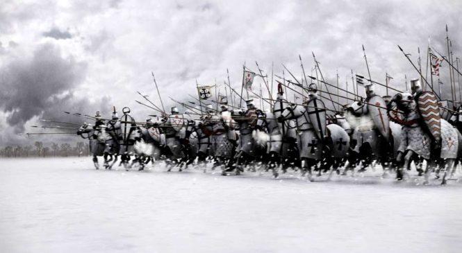 День воинской славы – День победы русских воинов под предводительством князя Александра Невского над ливонскими рыцарями на Чудском озере в 1242 году