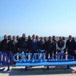 В Керчи Ленинградская делегация почтила память героев освободивших Крым