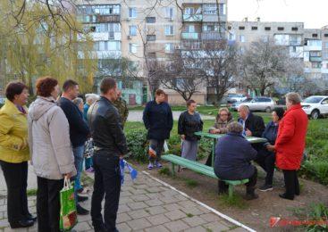 Депутат горсовета Владимир БАТУРЕНКО провел встречу с жителями по округу №5