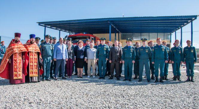 Николай ГУСАКОВ поздравил спасателей с 370‐летием пожарной охраны на открытии охранного поста Крымского моста