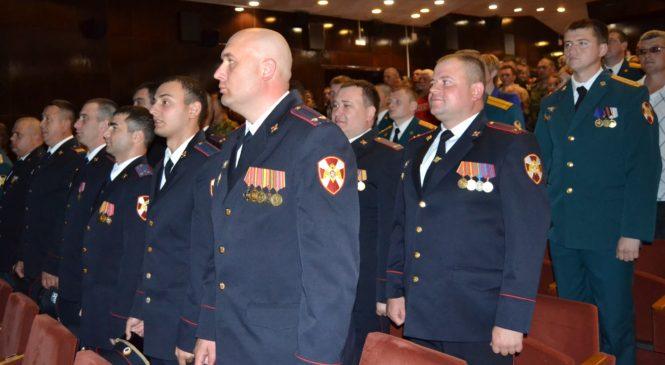 В Керчи отметили годовщину образования 115 отдельной бригады особого назначения